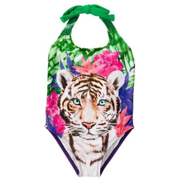Gymboree boys jungle tiger sandals size 5-6 nwt
